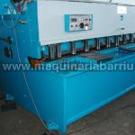 Cizalla AXIAL hidraulica CP-630 de 3000 x 6 mm.