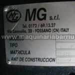 Cilindro MG hidraulico AK 213B/V 3R 2000x10/13 mm.