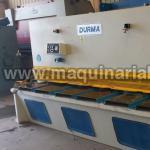 Cizalla DURMA DHGM-3016 de 3000 x 16
