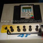 Cilindro DAVI hidraulico  mod. MCB3028 de 4 rodillos 3000x10/13 mm.
