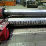 Hydraulic plateroll of variable geometry DAVI Mod. MAV3045 of 3000 x 45/35