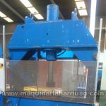 Prensa hidráulica de taller de aproximadamente 150Tn