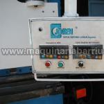 Plegadora JORDI hidraulica PH30125 de 3100 x 125 Tn. Posicionador 2 ejes.