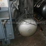Compresor UNAIR de 500 lts - 11 bar.
