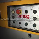 Plegadora OMAG de 2000 x 50 Tn  con tope motorizado