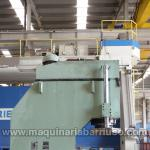 Prensa hidraulica de cuello de cisne OMAFER de 320 Tn con mesa de 2000 x 1100 mm