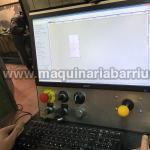 Mesa de plasma CNC de medidas 1000 x 2000 mm con control de altura y tratamiento de humos mediante aspiración por zonas. Pupitre de control y Software SheetCam. Equipada con generador Powermax 45
