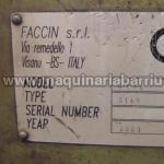 Cilindro FACCIN 4HEL 3149 de 4 rodillos 3050 x 36/42 mm.