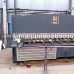 Cizalla HACO hidraulica de 3000 x 12 mm.