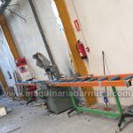 Tronzadora para aluminio  con bancada