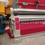 Plate roll  AKYAPAK Mod. AHS 30/16 with four cylinders and of 3050 x 16/20.