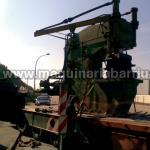 Prensa hidraúlica FANJUL de 350 Tn. cuello 800 mm.