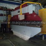 Plegadora CASANOVA hidraulica de 6000 x 160 Tn. con control.