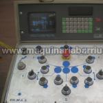 Cilindro hidraulico CO.MA.L de 4 rodillos de 4050 x 3/4 mm con CNC a 7 ejes.