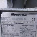 Punzonadora hidráulica Kingsland Mod. Compact 60