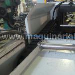Sierra de cinta MACC con camino de rodillos de salida