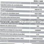 Taladro Radial Heller RD50/1600. Taladro como nuevo
