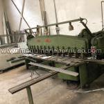 Cizalla mecanica SOMME de 3050 x 4 mm