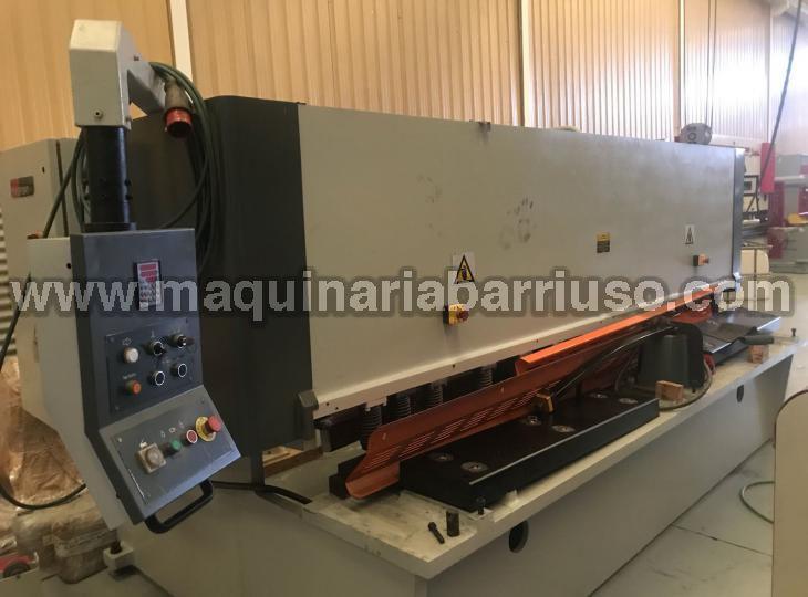 Cizalla ERMAK de 3050 x 13 mm