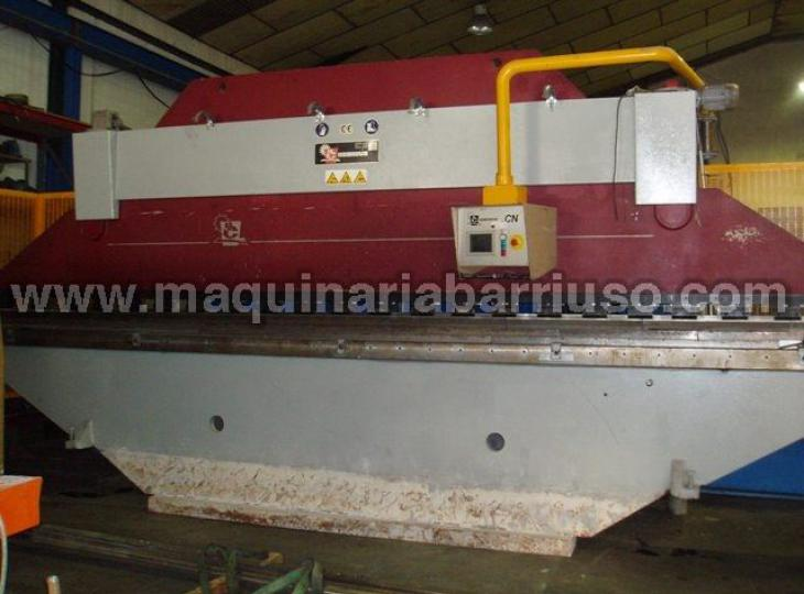 Hydraulic Casanova press brake of 6000 x 160 equipped with two axis control