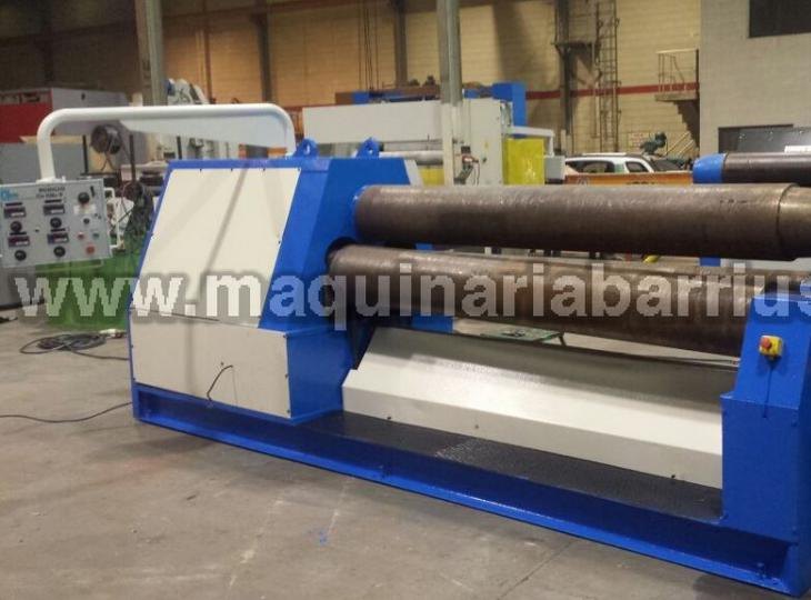 Second hand hydraulic plate roll JORDI of 2550 x 16/20