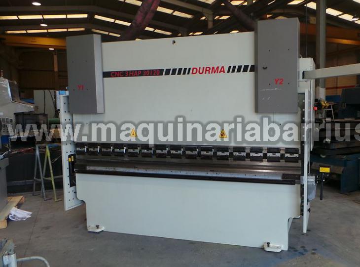Plegadora DURMA CNC 3 HAP 30120
