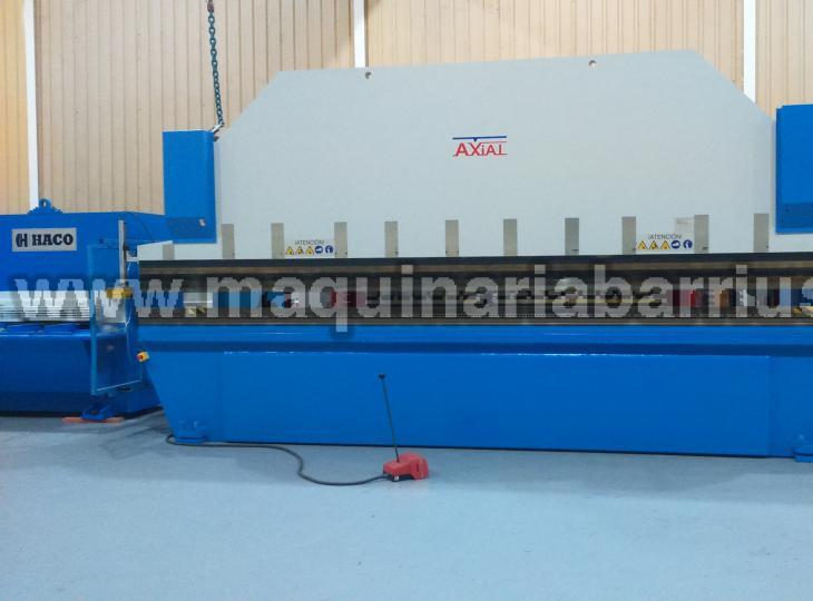 Plegadora AXIAL Mod. PSE 146 de 6050 x 140 Tn