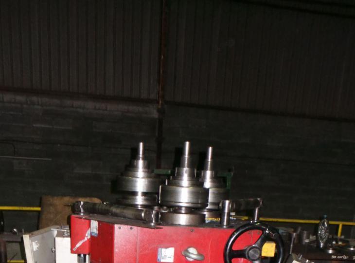 Curvadora de perfiles TAURING Mod. ALFA-70 CNC