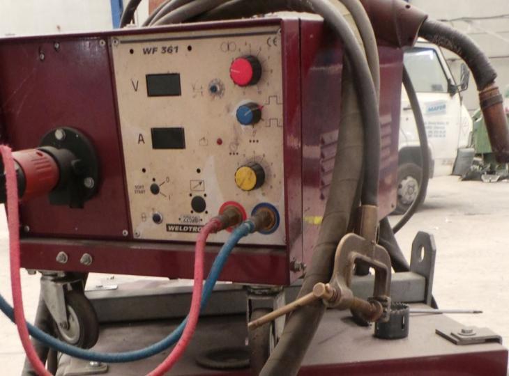 Maquina de soldar electrodo WELTRONIC mod. 410 N