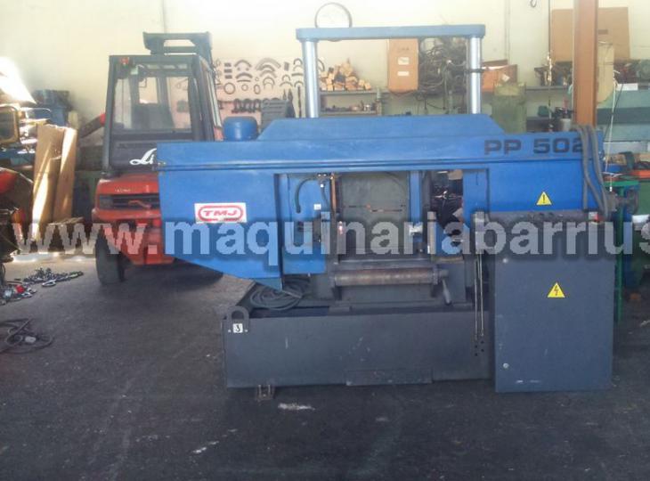 Sierra de cinta semiautomatica TMJ PP502