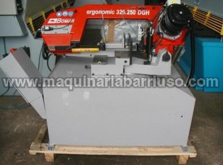 Sierra de cinta semiautomatica BOMAR Ergonomic 320.250 DGH