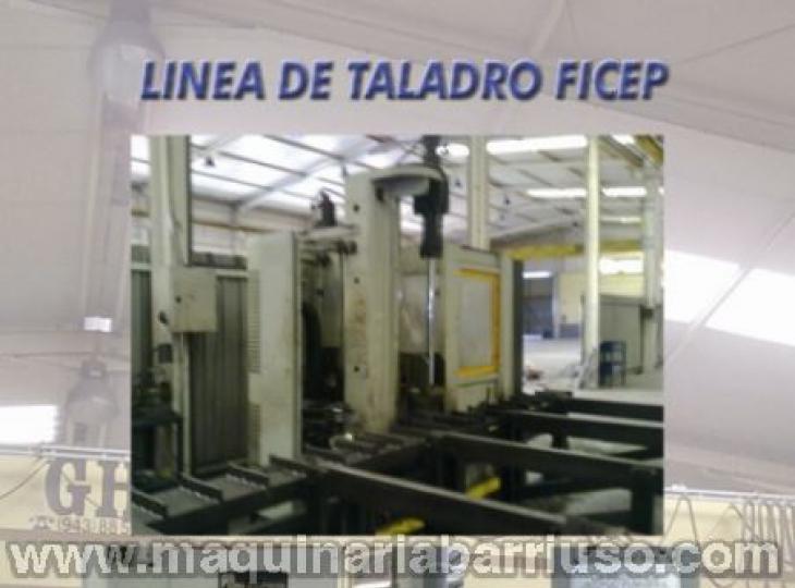Linea de taladro FICEP mod. 1001  D