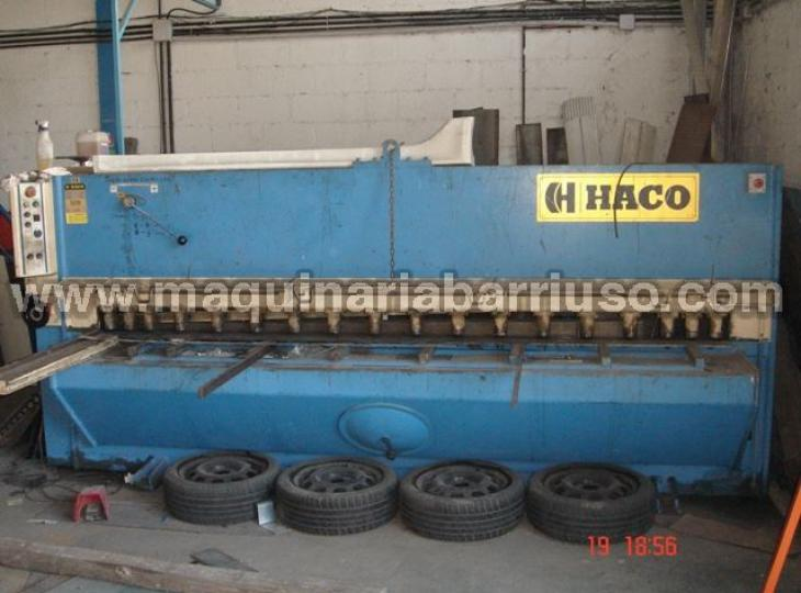 Cizalla HACO hidraulica mod. TS3006 de 3000x6 mm.