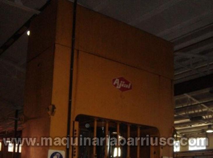 Prensa AJIAL PVD 1 260 Tn- Cojin  125 Tn