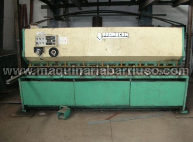 Cizalla MEBUSA PROMECAM hidraulica de 3000 x 6 mm.
