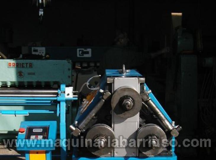 Curvadora de perfiles eje 50