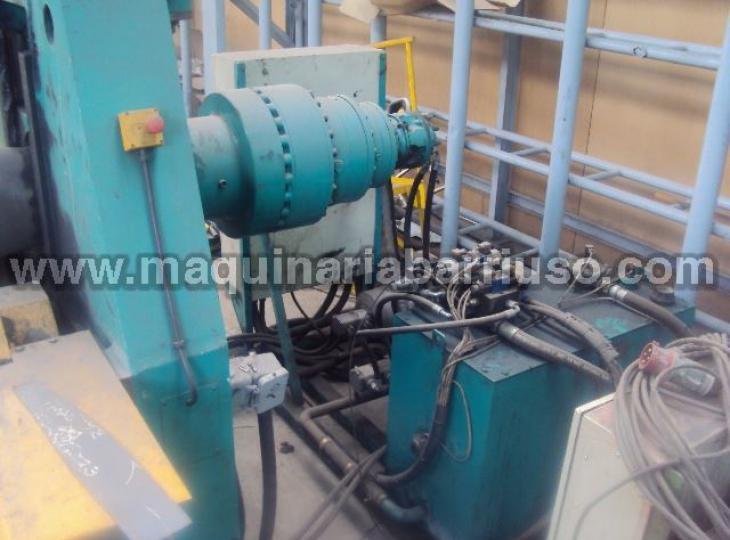 Cilindro hidraulico SERTOM mod. EMO 31/40 de 3100x40/50