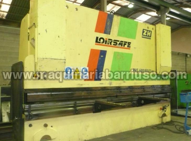 Plegadora LOIRE  PHS 500/50/41 de 5000 x 500 Tn,
