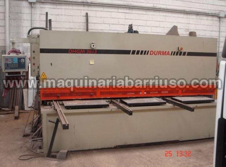 Cizalla DURMA  DHGM3013 de 3000x13 mm.