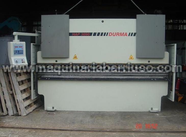 Plegadora DURMA HAP3090  de 3050 x 90 Tn