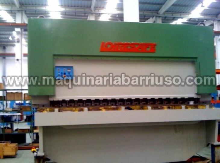 Cizalla LOIRE hidraulica de 4000 x 20 mm.