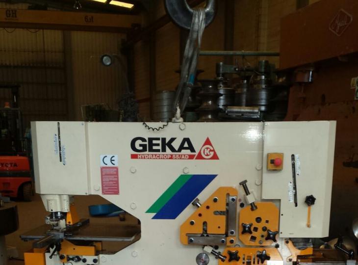 Punzonadora GEKA Hydracrop 55AD