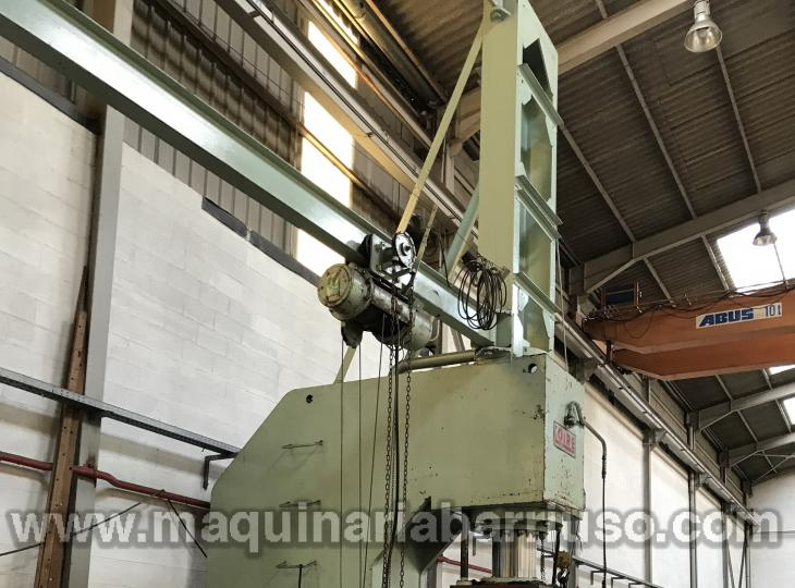 Prensa de cuello de cisne LOIRE de 300 Tn
