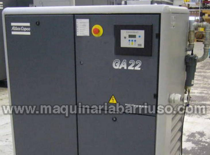 Compresor Atlas Copco GA-22  ( 30 Cv)