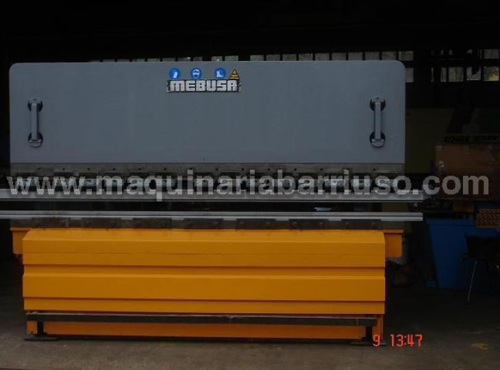 Plegadora Mebusa 3000x 120 Tn . Marcado CE