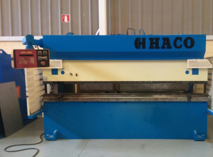Plegadora HACO de 3050 x 75 Tn