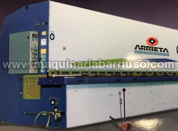 Cizalla hidraulica Arrieta de 3100x 8mm