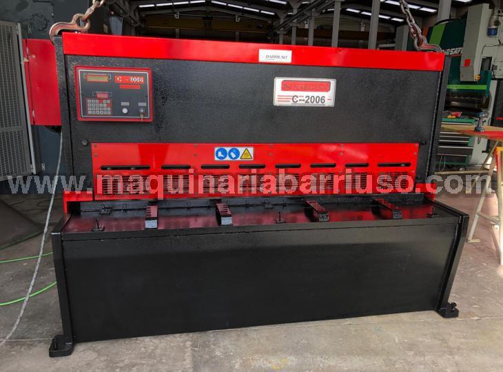 Cizalla NARGESA Mod. C2006 de 2050 x 6 mm